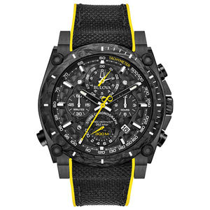 Bulova Precisionist Chronograph Watch 98B312